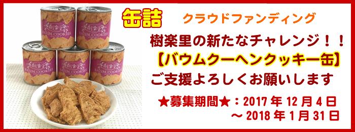 備蓄品にもなる!!バウムクーヘンクッキーの缶詰(グルテンフリー)